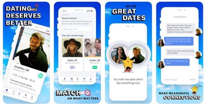 Dating app Ok Cupid