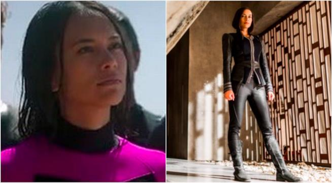 Sonya Balmores in un collage Marvel e DC