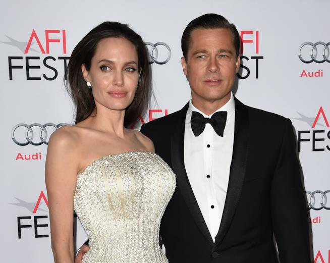 Angelina Jolie e Brad Pitt sul red carpet