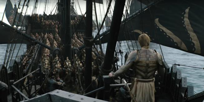 Game of Thrones 8 una scena