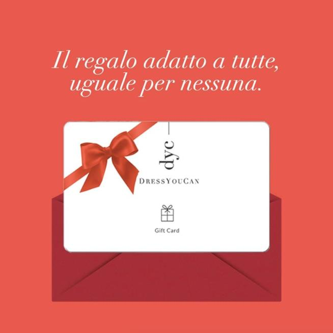 Carta regalo Dress You Can