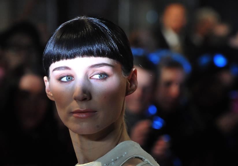 Rooney Mara e la frangia corta