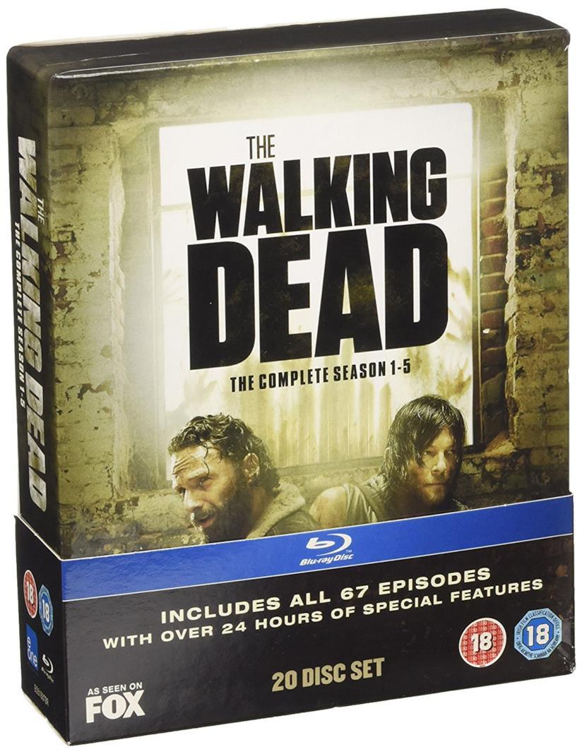 Cofanetto Blu-ray di The Walking Dead - Seasons 1-5