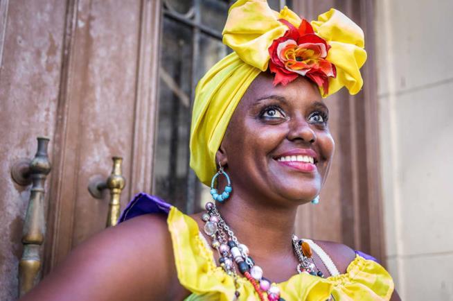 Viaggio a Cuba: una donna