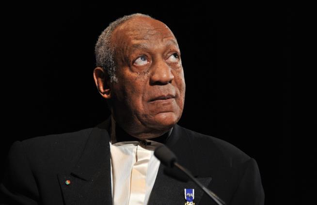 Bill Cosby durante un'apparizione pubblica