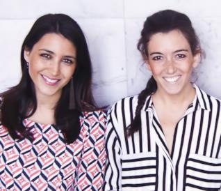 Monica e Giulia, fondatrici de Le Cicogne