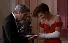 Julia Roberts e Richard Gere in Pretty Woman