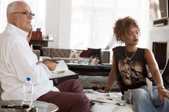 Rihanna con Manolo Blahnik