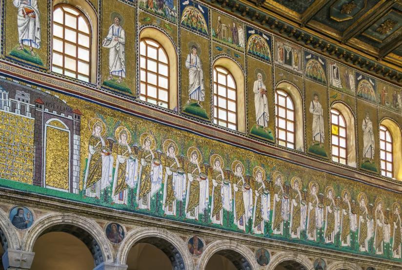 Mosaici della Basilica di Sant'Apollinare Nuovo a Ravenna