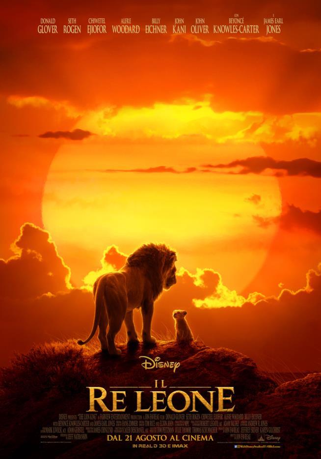 La locandina de Il re leone