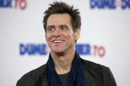 Jim Carrey sorridente
