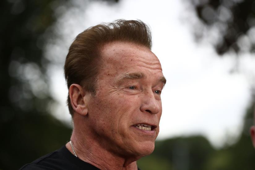 L'ex governatore della California Arnold Schwarzenegger