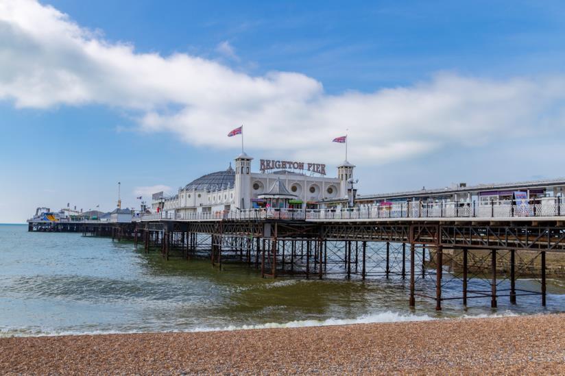 Vista del Brighton Pier