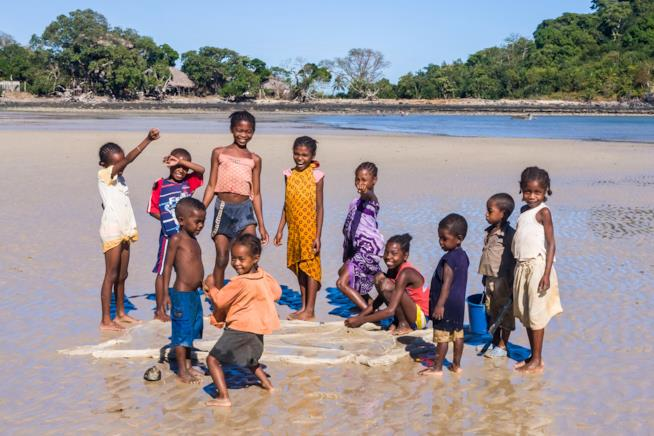 Bambini del Madagascar