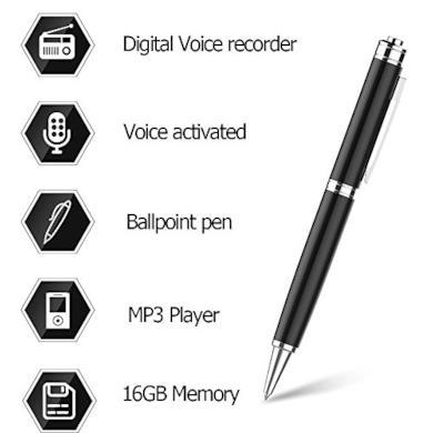 Penna Registratore Vocale