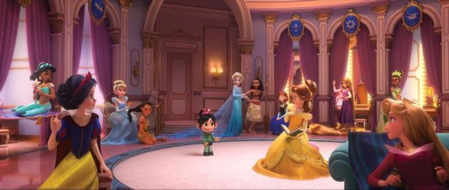 Vanellope e le Principesse Disney in Ralph spacca l'internet