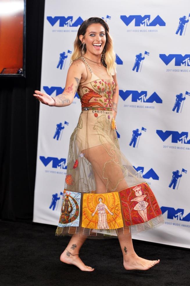 Paris Jackson ai MTV VMA 2017