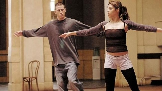 Jenna Dewan e Channing Tatum in Step Up