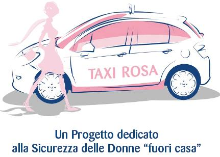 Taxi Rosa per viaggiare sicuri la notte