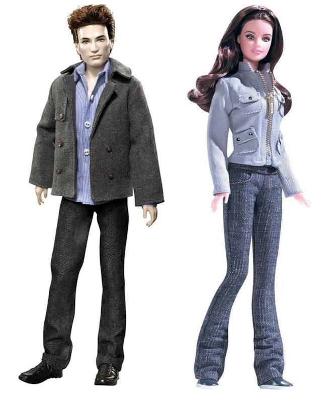 Edward e Bella di Twilight in versione Barbie