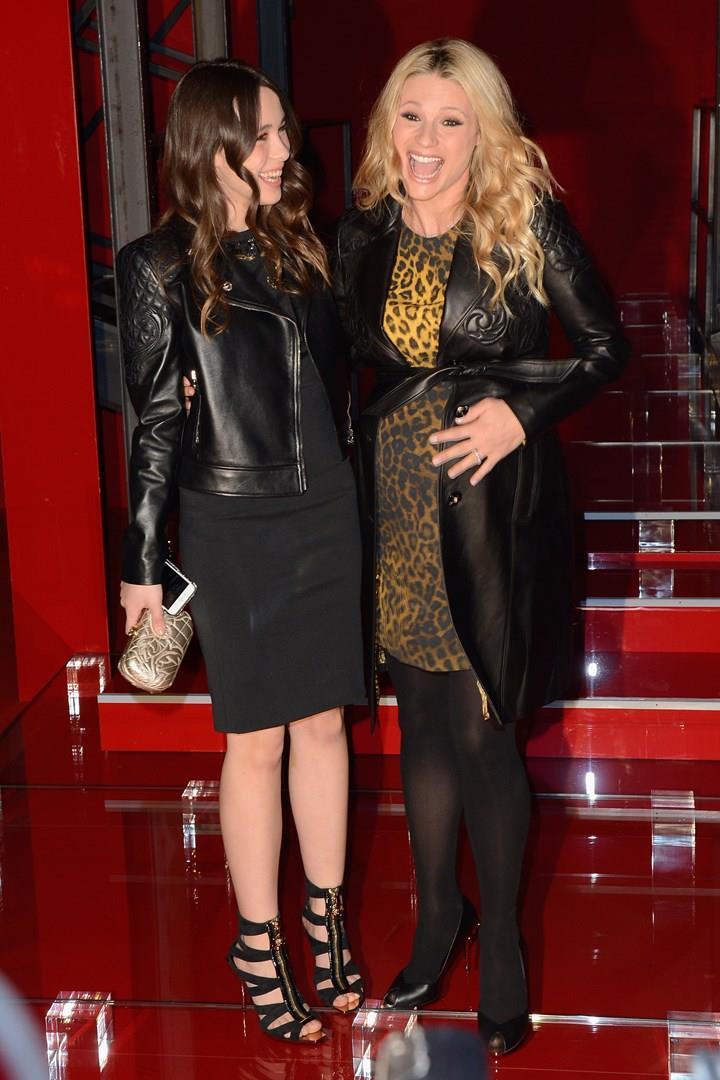 Aurora Ramazzotti e Michelle Hunziker sul red carpet