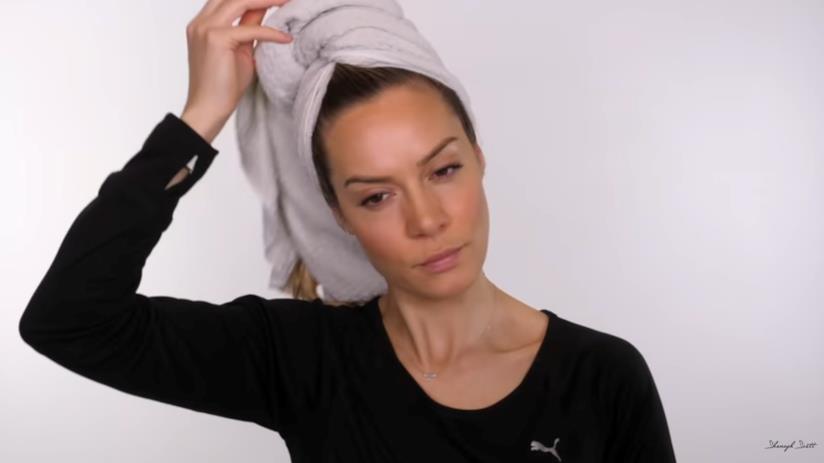 Tutorial acconciatura, dopo shampoo e balsamo