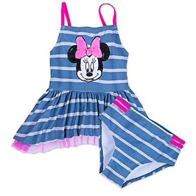 Costume Minnie due pezzi blu
