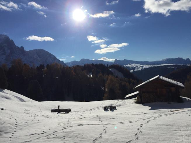 Un San Valentino in baita in Val Gardena
