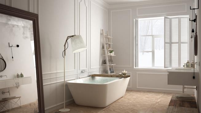 Come far durare a lungo un pavimento in parquet in bagno e - Parquet nel bagno ...