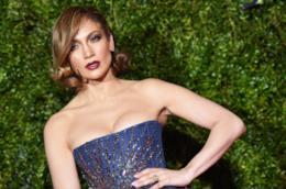 Jennifer Lopez in primo piano
