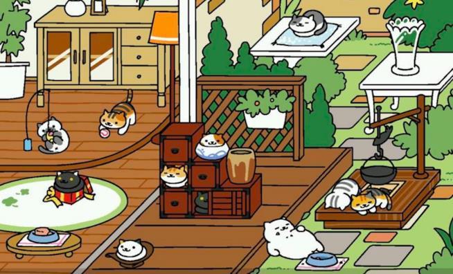 I gatti di Neko Atsume