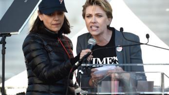 Scarlett Johansson alla Women's March