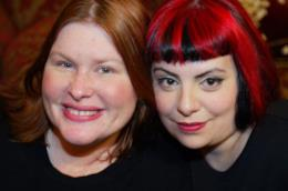 Cassandra Clare insieme a Holly Black
