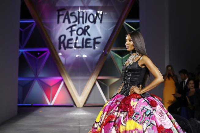 Naomi Campbell Fashion For Relief 2018