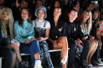 Le star in front row a New York