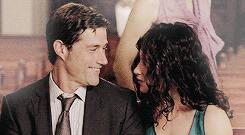 Matthew Fox ed Evangeline Lilly in Lost
