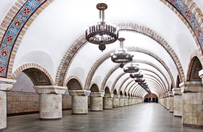 Stazione Zoloti Vorota, Kiev interno