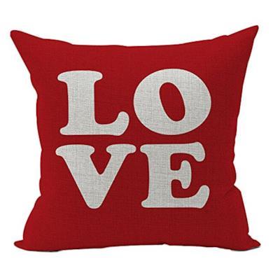 Cuscino con scritta Love