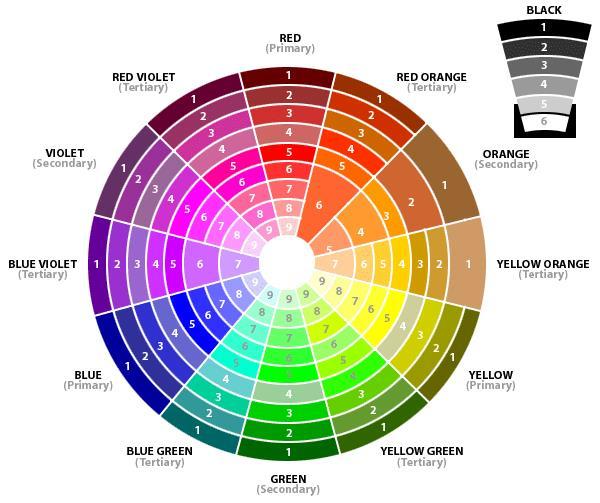 La ruota dei colori di Kuler