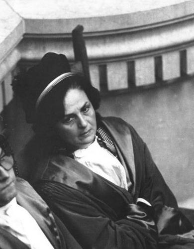 Una delle prime 8 donne Magistrato in Italia