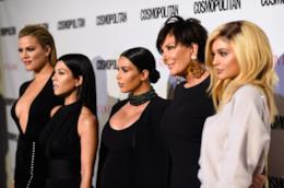 Le sorelle Kardashian-Jenner con Kris Jenner