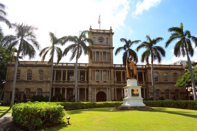 Il palazzo reale di Honolulu