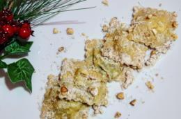 Primo piatto di pasta ripiena