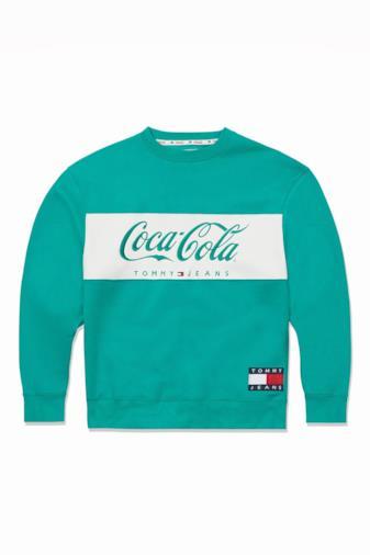Felpa con logo Coca-Cola