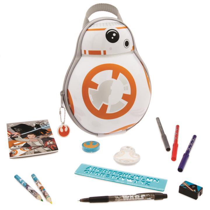 Astuccio BB8 e quaderni e penne di Star Wars