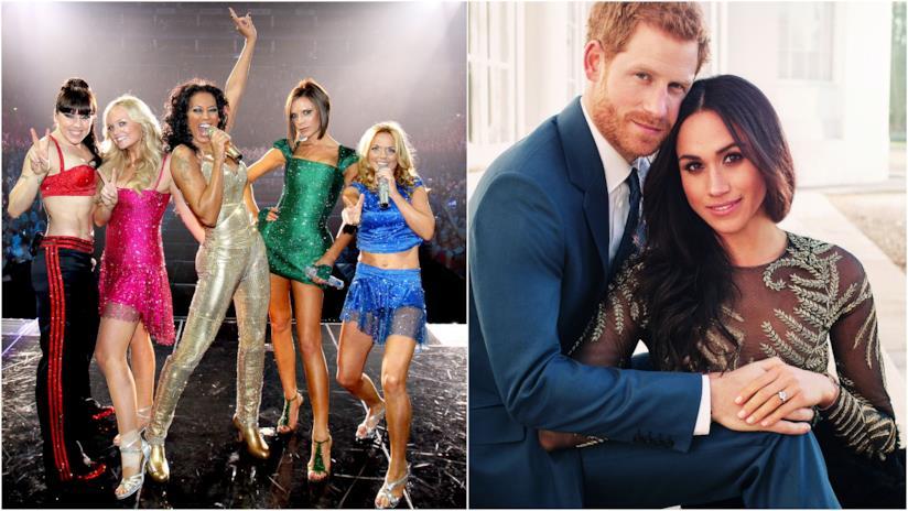 Spice Girls, Principe Harry e Meghan Markle