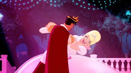 Una scena de La Principessa e il Ranocchio