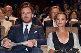 Alicia Vikander e il fidanzato Michael Fassbender