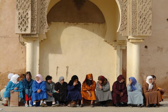 Scorci di vita quotidiana a Meknès