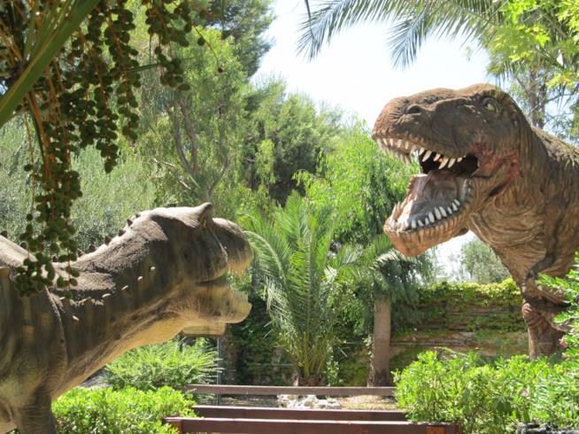 Parco dei Dinosauri, Bari